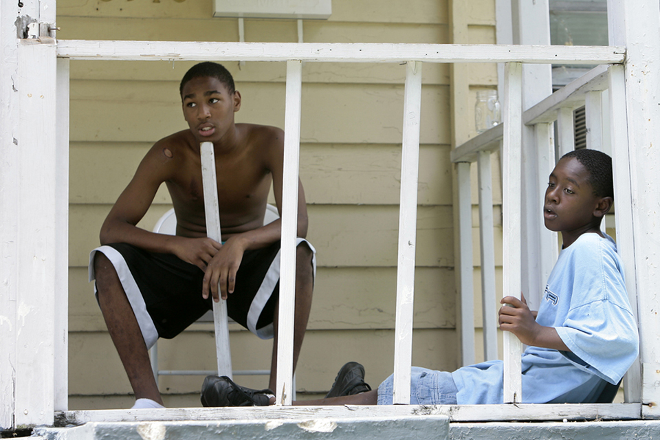 "Some of the people trying to improve conditions in 64130 hope that youngsters growing up today, like Lonell ""Lucky"" Boyle and Hasani Bakari can avoid the problems that befell so many other residents who've hailed from the area."