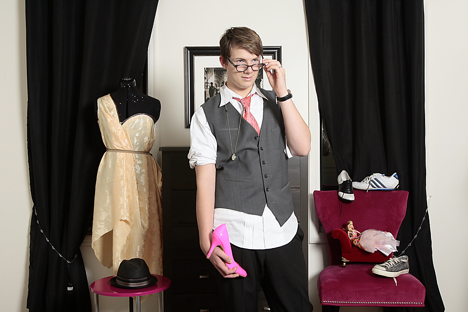 "ZACHARY NICKERSON, 14. ""'He's fashionable, and he knows how to work his angles.'"""