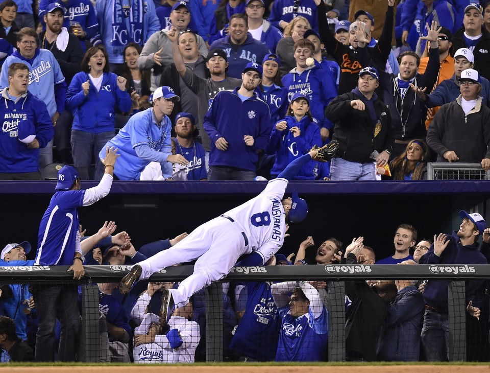 Royals-Orioles, ALCS Game 3, Oct. 14, 2014