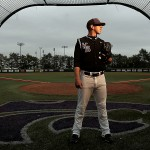 Pitcher Daniel Edwards, a senior at Kansas State University, passed on the draft to return for his final year in college.