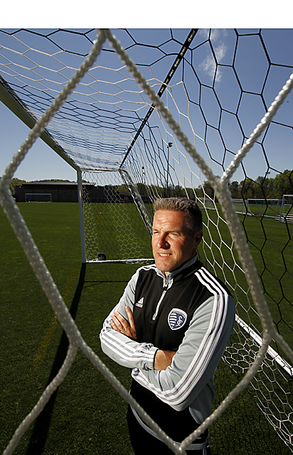 Peter Vermes, coach of Sporting Kansas City MLS team.