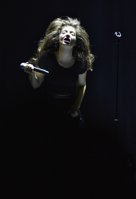 Lorde performed her sold out show at the Midland Theatre Friday, Mar. 21, 2014.